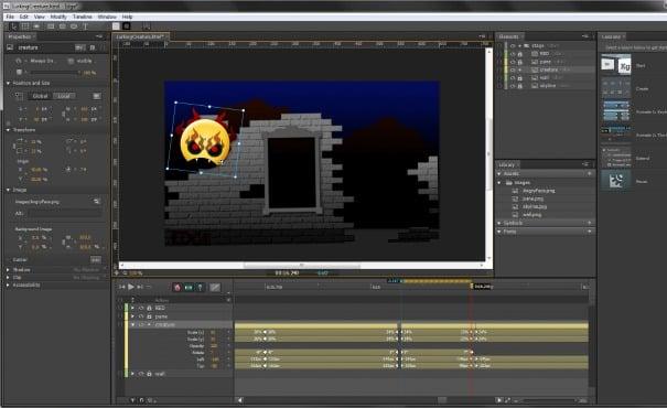 Web Design Animation Video Game Palooza - Game design software